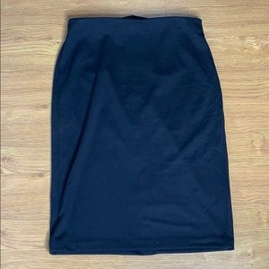 Premise Studio Black Pencil Skirt Stretchy